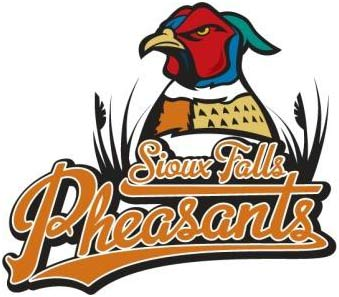 Sioux Falls Fighting Pheasants AA Baseball Team Logo